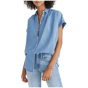 Madewell • Central Shirt in Roberta Indigo